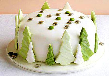 Торт на новый год своими руками с
