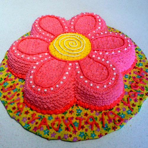 Торт для девочки без мастики