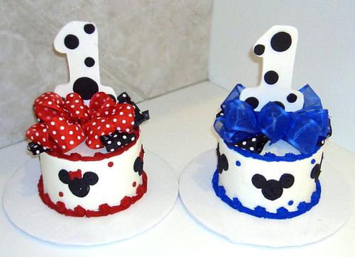 Торт на год для девочки и мальчика.