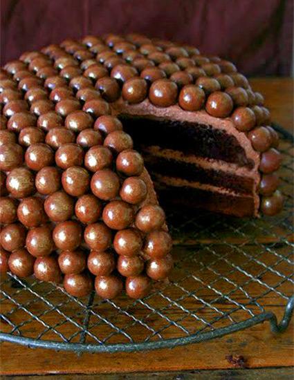 Рецепт коржей для шоколадного торта простой