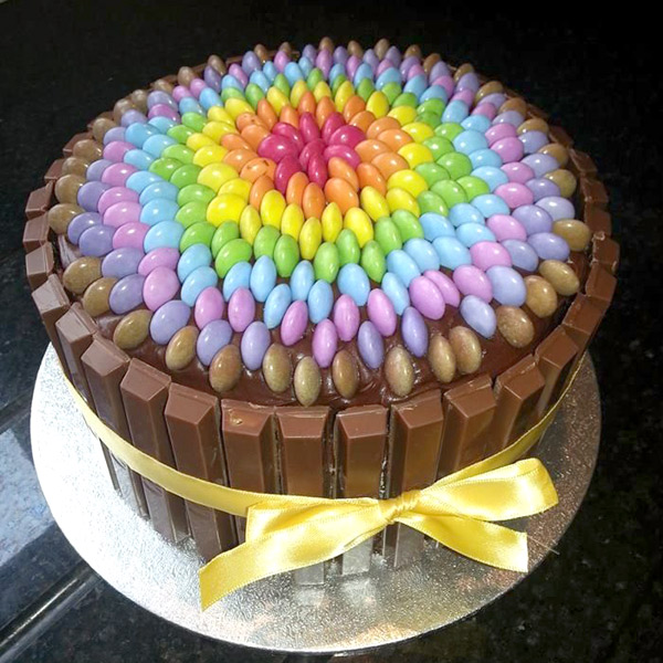 Как красиво сделать торт из коржей 561