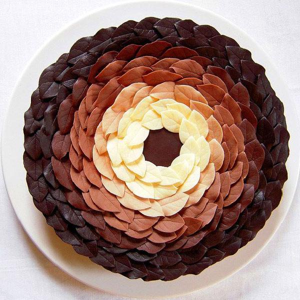 Украсить торт шоколадом своими руками в домашних условиях фото 86