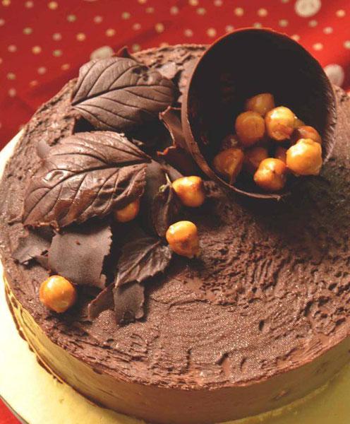 1 каким шоколадом можно украшать торт в домашних условиях.
