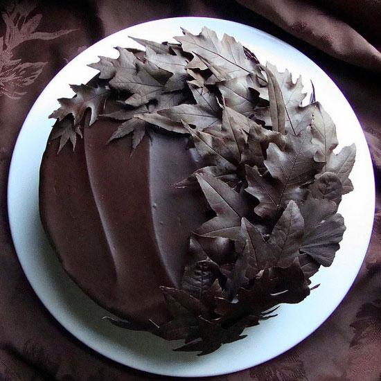 Как сделать торт из шоколада видео