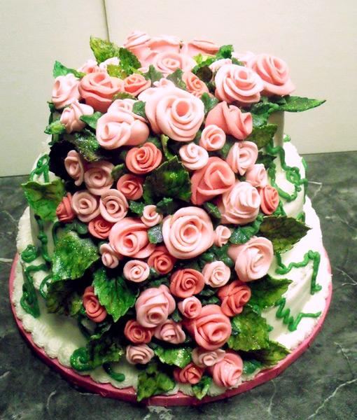 Цветы из мастики фото самые красивые
