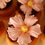 Торт из мастики с розами